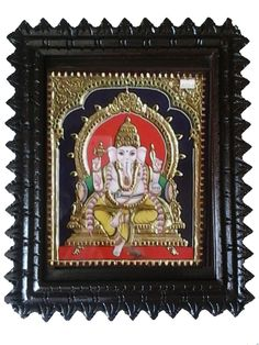 Tanjore Painting -Ganesh