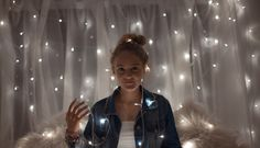 cute fairy lights photography