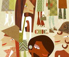 More great work by Illustrator Brian Love of Jennifer Vaughn Artist Agency
