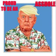 Proud To Be An Asshole... and bigly so !!!