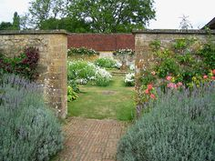 English garden created by the master herself Gertrude Jekyll