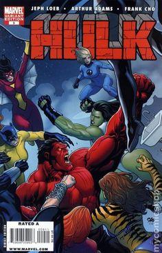Hulk # 9 (Variant) by Frank Cho Marvel Comics, Marvel Comic Books, Marvel Heroes, Marvel Characters, Comic Books Art, Marvel Avengers, Red She Hulk, Red Hulk, Jungle Girl