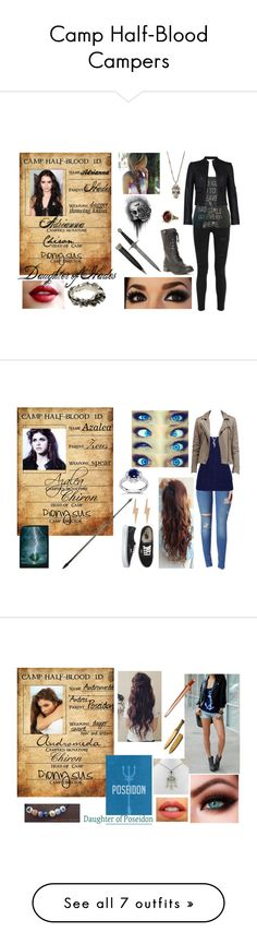 """Camp Half-Blood Campers"" by lostprincessofthesea on Polyvore"