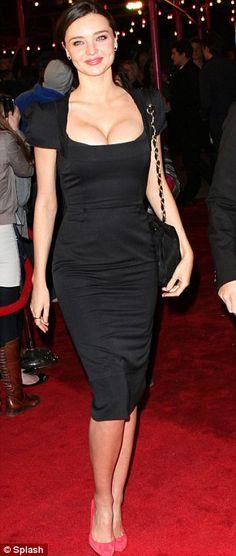 Miranda Kerr in Roland Mouret 'Galaxy' Fall 2005 dress, Lanvin bag, and Louboutin pumps at the 2011 Tribeca Film Festival, April 2011