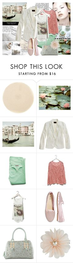 """""""each day is the same..."""" by gul07 ❤ liked on Polyvore featuring Deborah Rhodes, Madewell, Hudson Jeans, Pull&Bear and ALDO"""