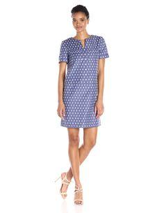 Anne Klein Women's Clipped Jacquard Dress