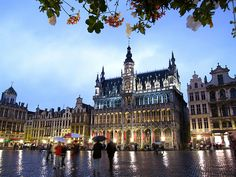 Le grand place in Brussels.... not sure if i went here exactly but have been to Brussels when I was very young