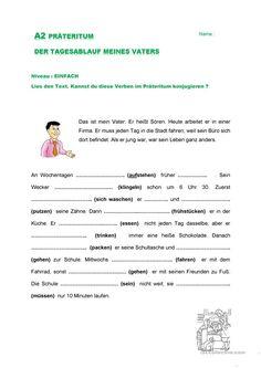 Lesen<br /> Arbeitsblatt zum Textverständnis<br /> mit 3 ...