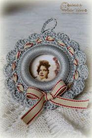 crochet - Page 4 Crochet Rings, Crochet Diy, Crochet Home, Crochet Crafts, Crochet Projects, Tutorial Crochet, Diy Crafts, Christmas Crochet Patterns, Crochet Snowflakes