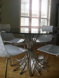 How My Chairs Might Look When Painted Glossy White