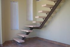Interior, Interesting Steel And Timber Stairs Design Combined With Elements Of Wood As A Footing: Amazing Staircase Design Ideas For Contemporary Home