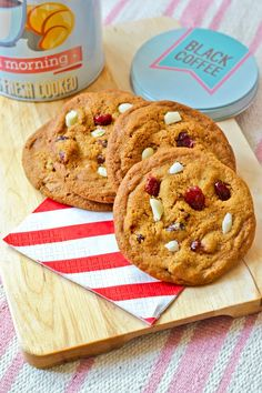 Laitetaanpa vielä toinen cookieohje teidän iloksenne, tai kiusaksenne - kumminka sen sitten haluaakaan ottaa.   Helppoja tehdä ja varma...