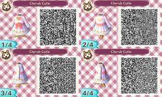 Cherub Cutie dress ~ acnl qr code