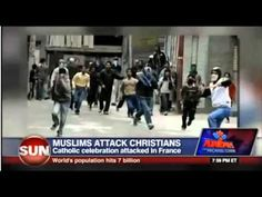 Muslims attack Catholics leaving Church. So, France, how are you liking those 'open borders'. Wake up Europe!!!