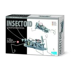 4M Insectoid Robot Science Kit 4M http://a.co/fo2B2wH
