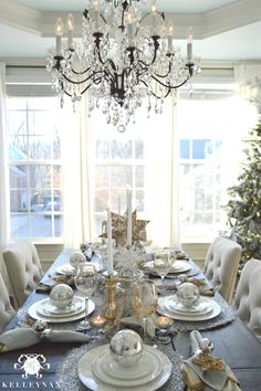 Kelley Nan: 2015 Christmas Home Tour This is the wine glasses I am looking for and seriously, those chairs!! Ahhhh