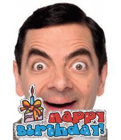Sube tu fotografía y con esta plantilla podrás editar tu propia tarjeta de felicitación personalizada. Se trata de una postal de cumpleaños con texto happy birthday animado y un pastel con vela. Para desear un feliz aniversario. www.fotoefectos.com