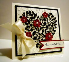 CC565 - KNOW WHAT I LOVE??? YOU! by Karen B Barber - Cards and Paper Crafts at Splitcoaststampers