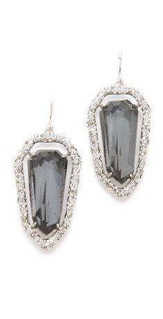 alexis bittar earrings | Alexis Bittar Delano Shield Earrings in Silver - Lyst