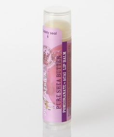 Look at this Pomegranate Shea Lip Balm - Set of Six on #zulily today!