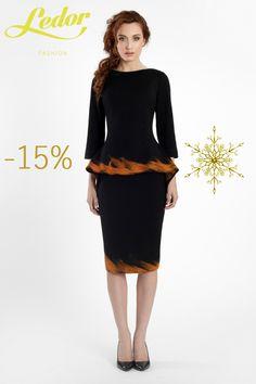 Przepiękny komplet Filo z pomarańczowym haftem z merynosów australijskich w promocji  15% TANIEJ!