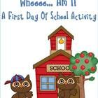 A great first day of school activity, which allows you to get to know your kiddos right away. Also, a great tool for the whole school year. Ideas f...