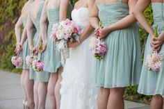 Shelly + Brian #bridesmaids Photo By 13:13 Photography