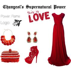 EXO Chanyeol Supernatural Power Inspired Outfit by nanrelladu on Polyvore featuring Issa, Charlotte Russe, Alexander McQueen and Anna Hu