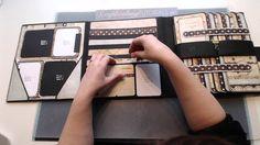 Scrapbooking Tutorial - Foto Folio style 1 -RELEASE-
