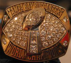Tampa Bay Buccaneers 2002 Super Bowl Ring.