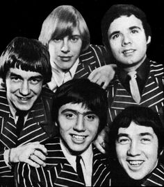 """The Easybeats were an Australian rock band. They formed in Sydney at the Villawood Migrant Hostel (now the Villawood Detention Centre) in late 1964, and disbanded at the end of 1969. They are regarded as the greatest Australian pop band of the 1960s, echoing The Beatles' success in Britain, and were the first Australian rock and roll act to score an international pop hit with their 1966 single """"Friday on My Mind"""". Stevie Wright, Gordon """"Snowy"""" Fleet, George Young, Harry Vanda, Dick Diamonde."""