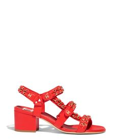 Discover the latest collection of CHANEL Shoes. Explore the full range of Fashion Shoes and find your favorite pieces on the CHANEL website. Chanel Sandals, Red Sandals, Balenciaga Shoes, Gucci Shoes, Chanel Fashion, Fashion Shoes, Tom Ford Shoes, Adidas Shoes Women, Women Nike