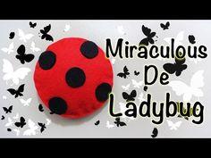 MIRACULOUS LADYBUG   MIRACULOUS / AMULETO ENCANTANDO / LUCKY CHARM   COMO HACER   DIY - YuureYCrafts - YouTube