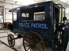 Horse drawn Paddy Wagon, more at www.PoliceHotels.com