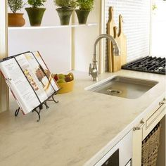 Corian 2 in. Solid Surface Countertop Sample in Clam Shell-C930-15202CL - The Home Depot