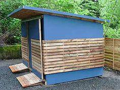Portland shed, studio shed, storage shed Outdoor Storage Sheds, Bike Storage, Shed Storage, 12x8 Shed, Cool Sheds, Shed Plans 12x16, Studio Shed, Artist And Craftsman, Bike Shed