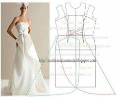 Einfaches, schlichtes aber schönes Hochzeitskleid