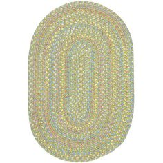 Meridian Rugmakers Sahaspur Lime Indoor/Outdoor Area Rug Rug Size: