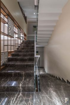 Valli Villa- Mix Of Tranquility And Vintage Style  Project INC - The Architects Diary Wooded Landscaping, Lounge Party, Natural Stone Flooring, Landscape Elements, Puja Room, Granite Stone, Marble Wall, Italian Marble, Traditional Interior