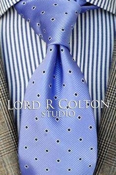 Silver Black Pearl Woven Necktie Lord R Colton Studio Tie $95 Retail New