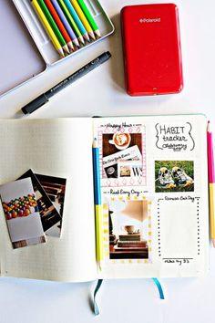 Polaroid Zip Instant Mobile Printer - my favorite printer for bullet journaling!