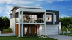 Seaview 324 - Element Metro. Exterior Design. Urban Façade. G.J. Gardner Homes. Australia.