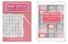 I'm in love with the graphic texture from this simple knit stitch pattern. Learn How to Knit the FLAG Stitch with Free Knitting Pattern + Video Tutorial by Studio Knit. Rib Stitch Knitting, Knitting Charts, Easy Knitting, Knitting For Beginners, Baby Knitting Patterns, Knitting Stitches, Stitch Patterns, Purl Stitch, Rib Knit