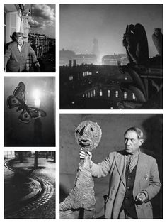 Hungarian-born French photographer, sculptor and poet, Brassaï, was born in Brassó, Austria-Hungary on September 9, 1899. He moved to Paris in the mid-1920s, where he met Dalí, Miró and Picasso (seen at bottom right). He is perhaps best known for his photographs of Paris and its denizens at night. Learn more about him at (http://www.masters-of-photography.com/B/brassai/brassai_articles3.html)
