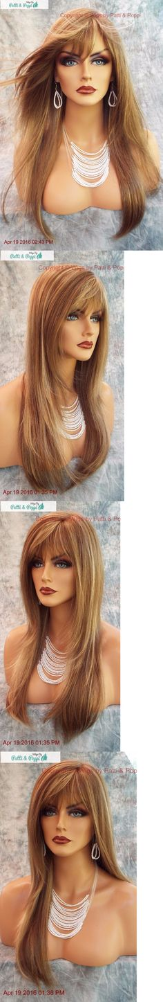 Other Extensions and Wigs: Stevie Amore Double Monotop Wig *Mochaccino ? Turn Heads W/ This Beauty 559 BUY IT NOW ONLY: $199.0