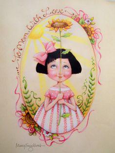 Mary Engelbreit vintage art print