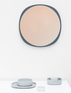 Fade collection by John Astbury and Kyuhyung Cho - Could be a nice template for a walnut mirror frame