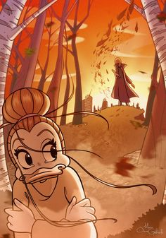 Fragments of Autumn from Disney's PKNA by MarioOscarGabriele on DeviantArt. Colours