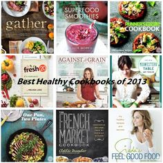 Best Healthy Cookbooks of 2013