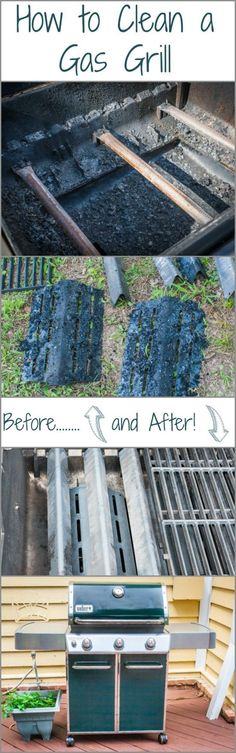 How to clean a Gas Grill! It's so important that you properly clean your gas grill if you want great tasting food! With easy step by step instructions.